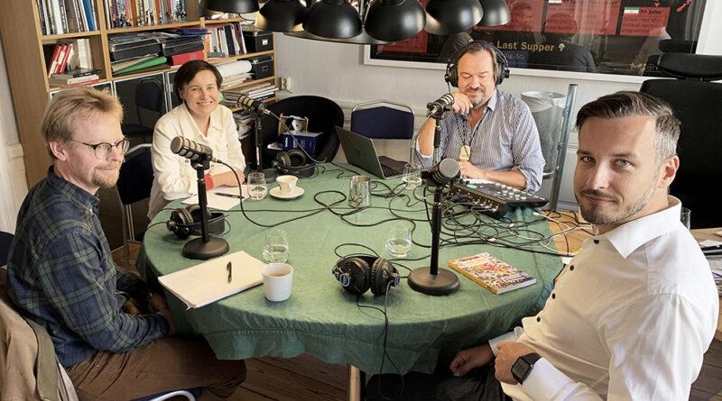 Global Podd - Michael Sender, Lana Willebrand, Martin Uggla, David Isaksson