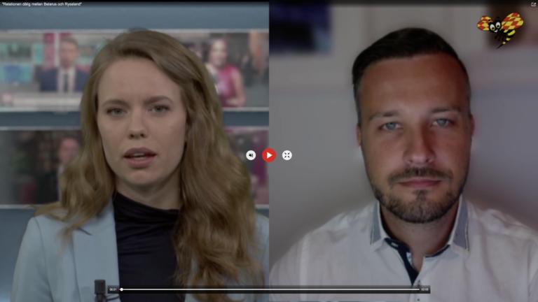 Relationen dålig mellan Belarus och Ryssland // Expressen TV